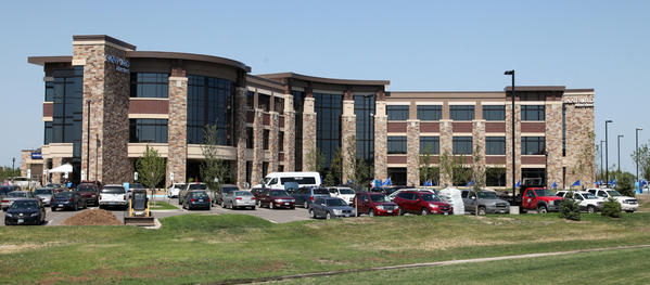 Exterior of the newly completed Sanford Aberdeen Medical Center. photo by john davis taken 6/26/2012