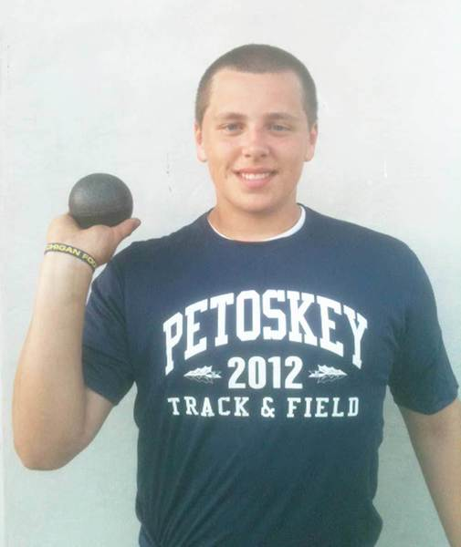 Tommy Roush won the shot put, discus and hammer throw events at the USA Track & Field Junior Olympic State Championships at Olivet College.