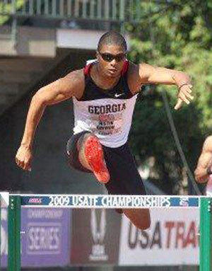 Phillipsburg's Justin Gaymon will be competing in the preliminary round of the 400-meter hurdles at 9 p.m. Thursday at the University of Oregon's Hayward Field.