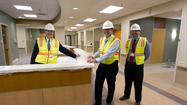 Riverside hospital's new surgical pavilion