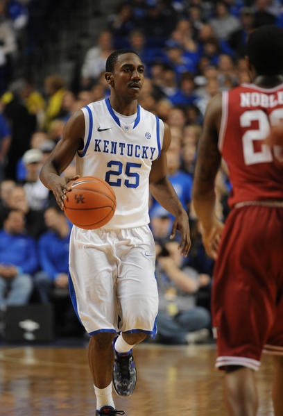 Marquis Teague will be the last Kentucky player picked in the first round of Thursday's NBA draft, according to ESPN analyst Jay Bilas. Bilas said he expects four Wildcats to be selected in the first round, with Teague going at around No. 23 or 24.