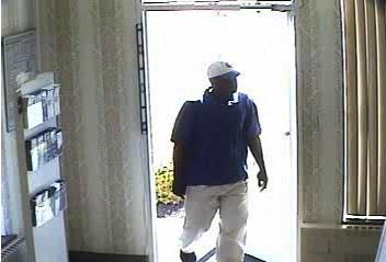 Suspect in Wednesday, June 27 bank robbery in Danville.