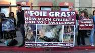With foie gras ban, chefs say state is force-feeding morality