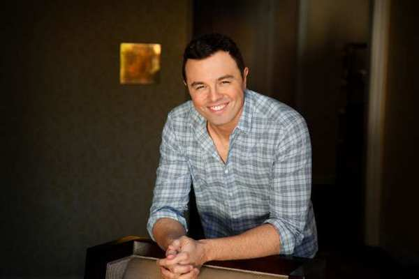"Seth Macfarlane says he tried to come up with a voice for the teddy bear star of ""Ted"" that would be different from the voice of Peter Griffin in ""Family Guy,"" but concedes that they sound pretty similar."