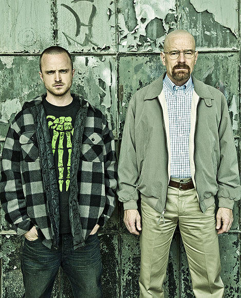 'Breaking Bad' Season 5: Aaron Paul and Bryan Cranston