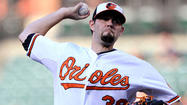 Orioles' Jason Hammel has early exit against Angels