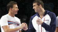 Phelps and Lochte continue rivalry in swimming trials