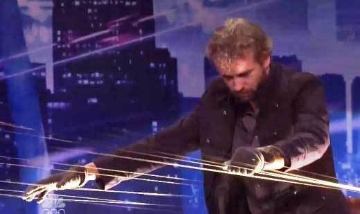 'America's Got Talent' Season 7 semifinalists: William Close, Earth Harp musician