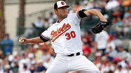 Chris Tillman knocking on the Orioles' door
