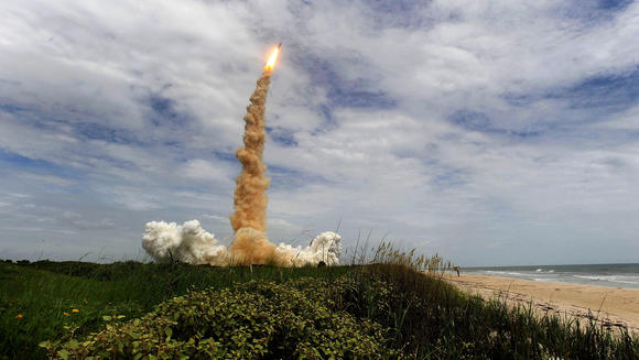 Last launch of the space shuttle program