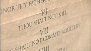 Settlement reached in Giles Co. Ten Commandments battle