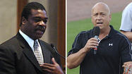 Cal Ripken Jr. and Eddie Murray will be inducted into the Sports Legends Museum at Camden Yards' Hall of Legends during the Babe Ruth Birthplace Foundation's annual gala in September, according to a news release.