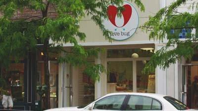 The Love Bug, a new baby products store, is located in downtown Petoskey.
