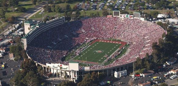 The Big Ten, Pac-12 and ESPN have announced a 12-year extension with the Rose Bowl through 2026.