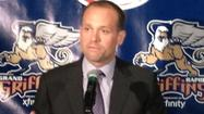 The Grand Rapids Griffins and Detroit Red Wings made the official announcement Thursday that Jeff Blashill is the Griffins new head coach.