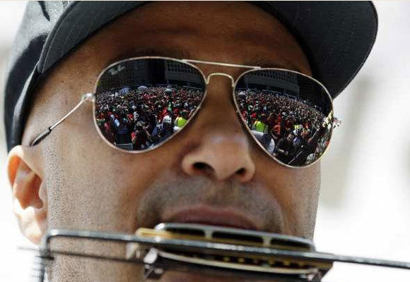 Tom Morello of Rage Against the Machine is expected to perform at Saturday's protest against Wal-Mart in L.A.'s Chinatown.