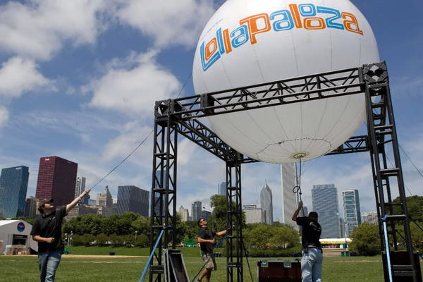 Lollapalooza will be held Aug. 3rd-5th.