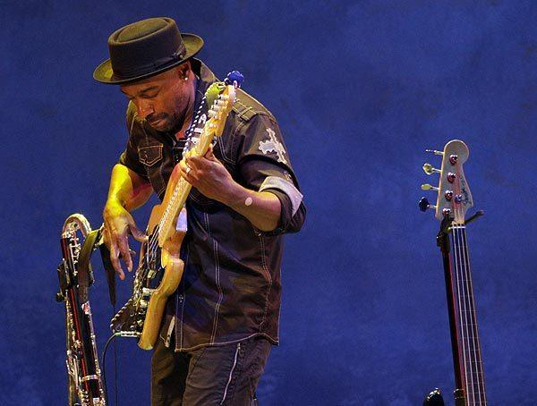 "Bassist Marcus Miller and his group perform ""Tutu Revisited."""