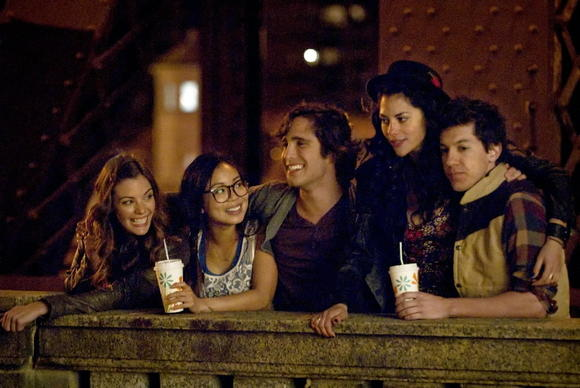 The cast of MTV's new drama-series, 'Underemployed'