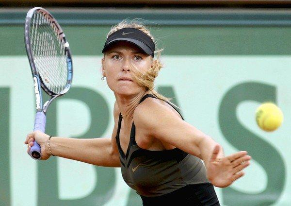 Forbes magazine reports that Maria Sharapova, winner of the French Open in June, earned the most money of any female athlete in the past year but still lagged behind 25 men.
