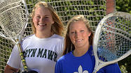 As lacrosse goalies, Bryn Mawr's Molly Wolf and St. Mary's Megan Ward have the quickness and the athleticism to make spectacular saves, but they take different approaches to the position.