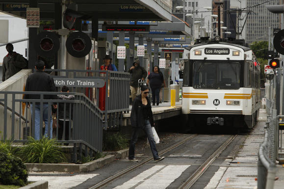 Photo: If extended, Measure R would help fund the Westside Subway Expansion, which will run beetween Los Angeles and the Westside. Credit: Mark Boster / Los Angeles Times
