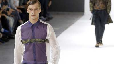 Paris Fashion Week: Dries Van Noten men's spring-summer 2013