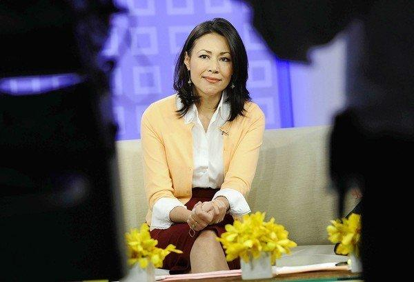 "Ann Curry offers a tearful goodbye as co-host of NBC's ""Today"" show."