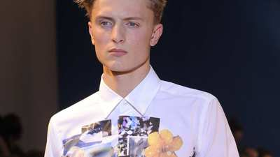 Paris Fashion Week: Christian Lacroix men's spring-summer 2013
