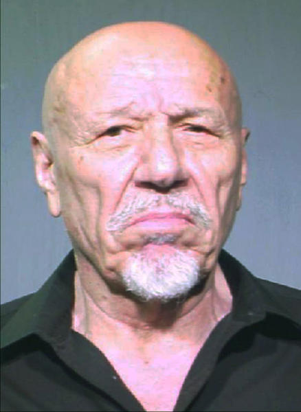 Booking photo of Ernest Panos