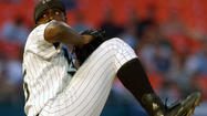 Dontrelle Willis makes his first start for Triple-A Norfolk