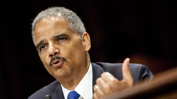 Atty. Gen. Eric Holder, seen at a news conference in New Orleans, has been found in criminal and civil contempt of Congress.