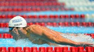 Notebook: Phelps out of Friday's 200 backstroke