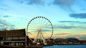 Seattle waterfront's 'Great Wheel' opened to public Friday