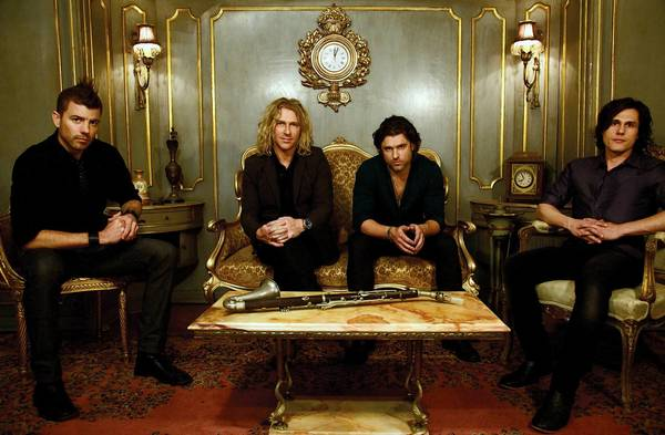 Collective Soul,plays Musikfest Cafe at SteelStacks in Bethlehem. The band includes (from left) Will Turpin, Ed Roland, Dean Roland, Joel Kosche.
