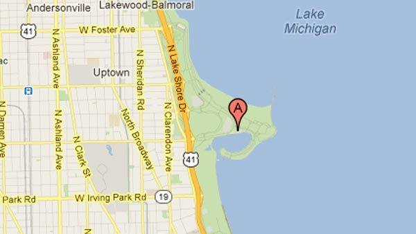Divers search for person in Lake Michigan on North Side.