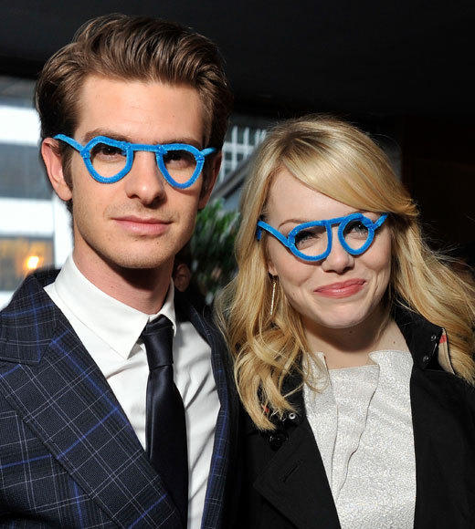 Emma Stone and Andrew Garfield: A red carpet romance: They can get seriously silly