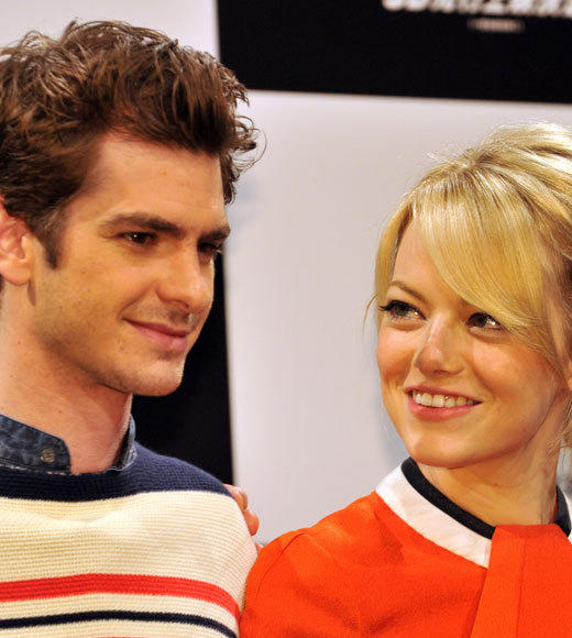 Emma Stone and Andrew Garfield: A red carpet romance: The look of love -- part 2