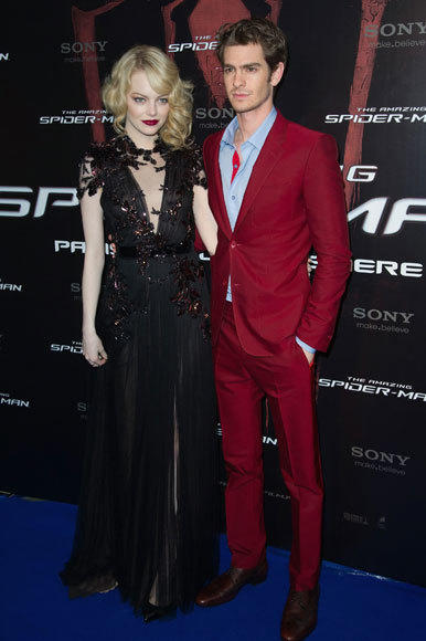 Emma Stone and Andrew Garfield: A red carpet romance: ...and his