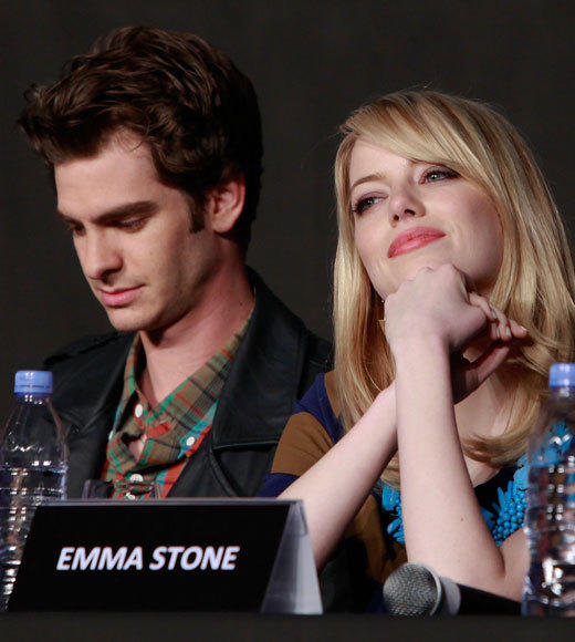 Emma Stone and Andrew Garfield: A red carpet romance: Dreamy