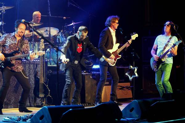 Ringo Starr and His All Starr Band at the State Theatre in Easton Tuesday.
