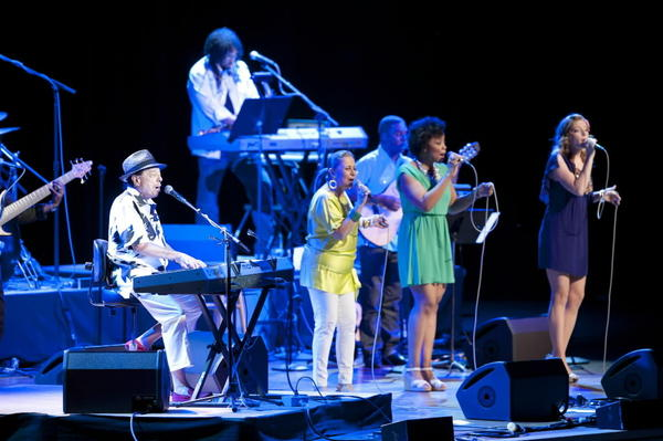 Sergio Mendes at Ravinia Festival on Wednesday night.