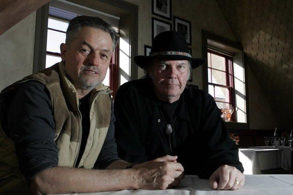 Neil Young and Jonathan Demme