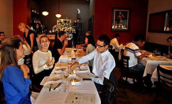Victor Casanova's Gusto on West 3rd Street is a deceptively modest, down to earth restaurant.