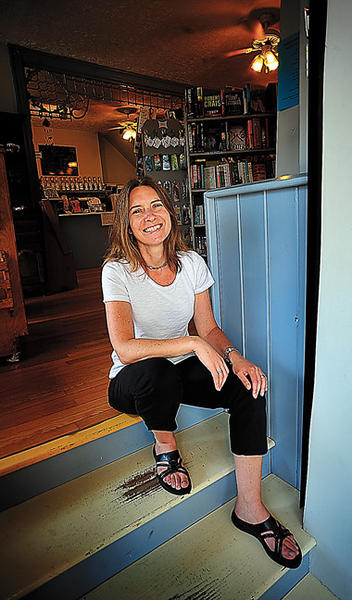 Janeen Solberg, manager of Turn the Page Bookstore in Boonsboro, was named Steffie Walker Bookseller of the Year by Romance Writers of America.