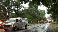 Power outages from heavy storms that raked Michiana Friday afternoon aren't going to end soon. Crews are working across northern Indiana and southern lower Michigan to restore electric service to more than 107,000 customers.