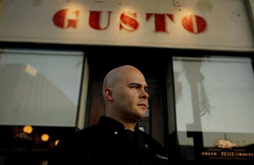 Gusto is a cozy Italian restaurant on West 3rd Street from young chef Victor Casanova, a New York native.
