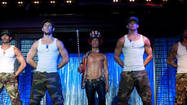 "After countless ads featuring stripping, stripping and more stripping, you probably drooled all over your seat/armrest/entire theater after seeing the two-hour naked-dude-extravaganza at last night's midnight screening of ""Magic Mike."""