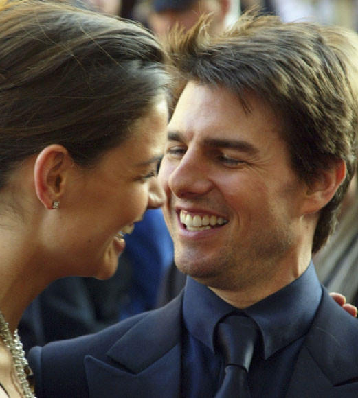 Tom Cruise and Katie Holmes divorce: A couple through the years: Tom and Katie made their first public appearance as a couple in Rome in April 2005.