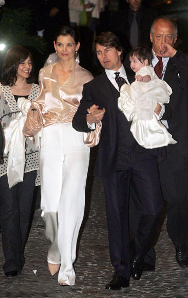 Tom Cruise and Katie Holmes divorce: A couple through the years: 2006